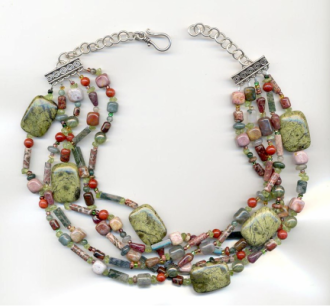Bead Soup Necklace Tutorial