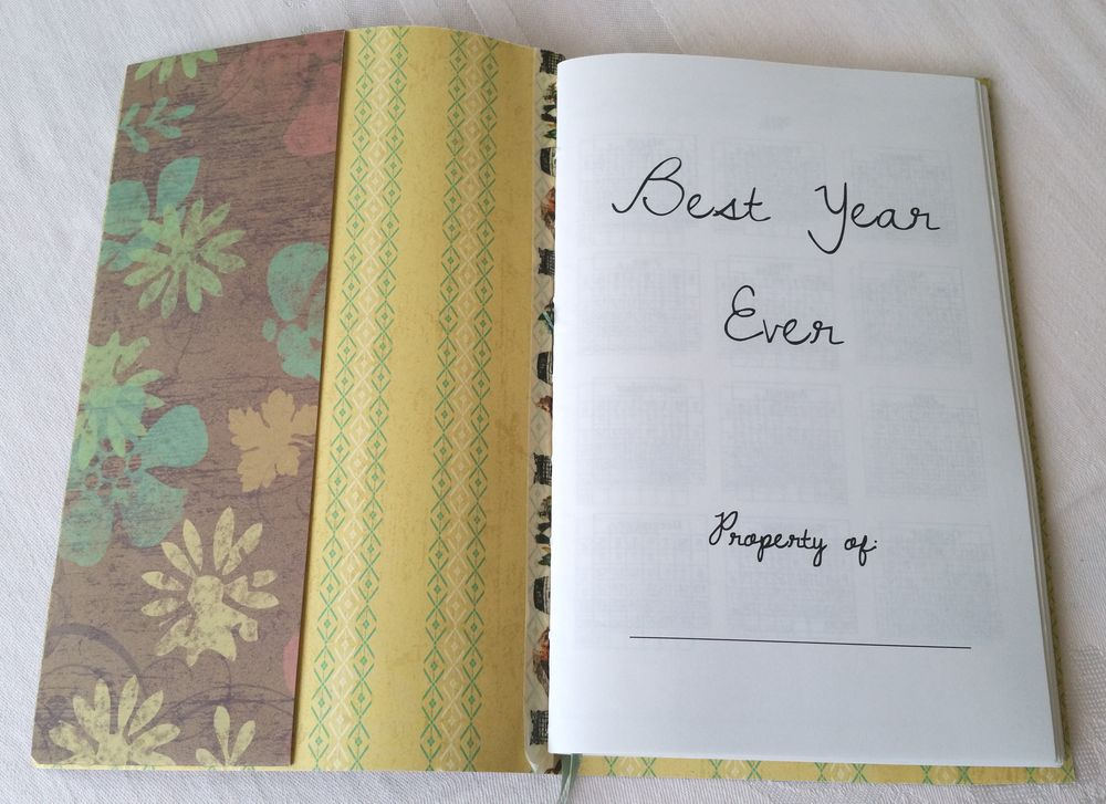 Year Planner Pages